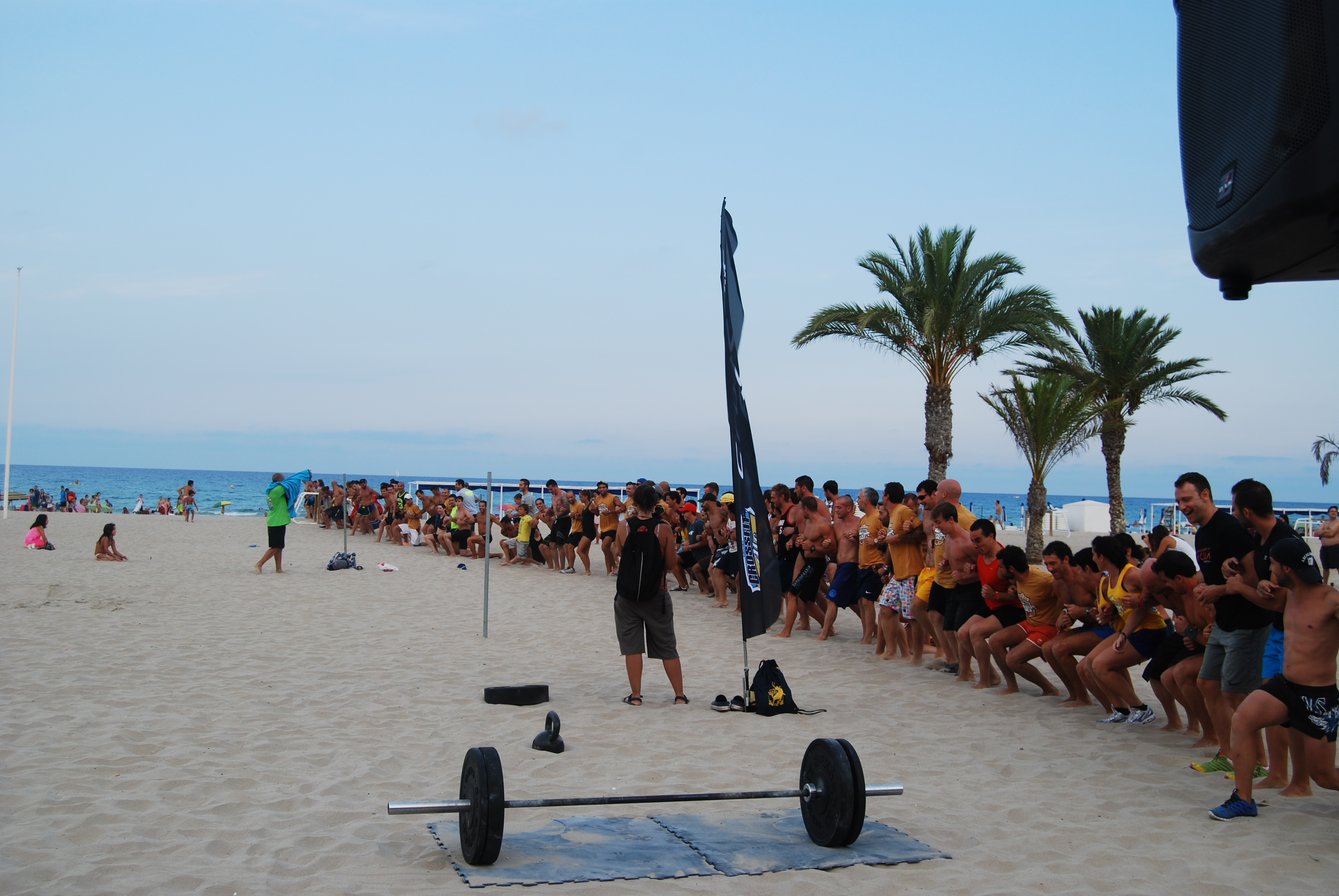 Fit Test in The Beach 5