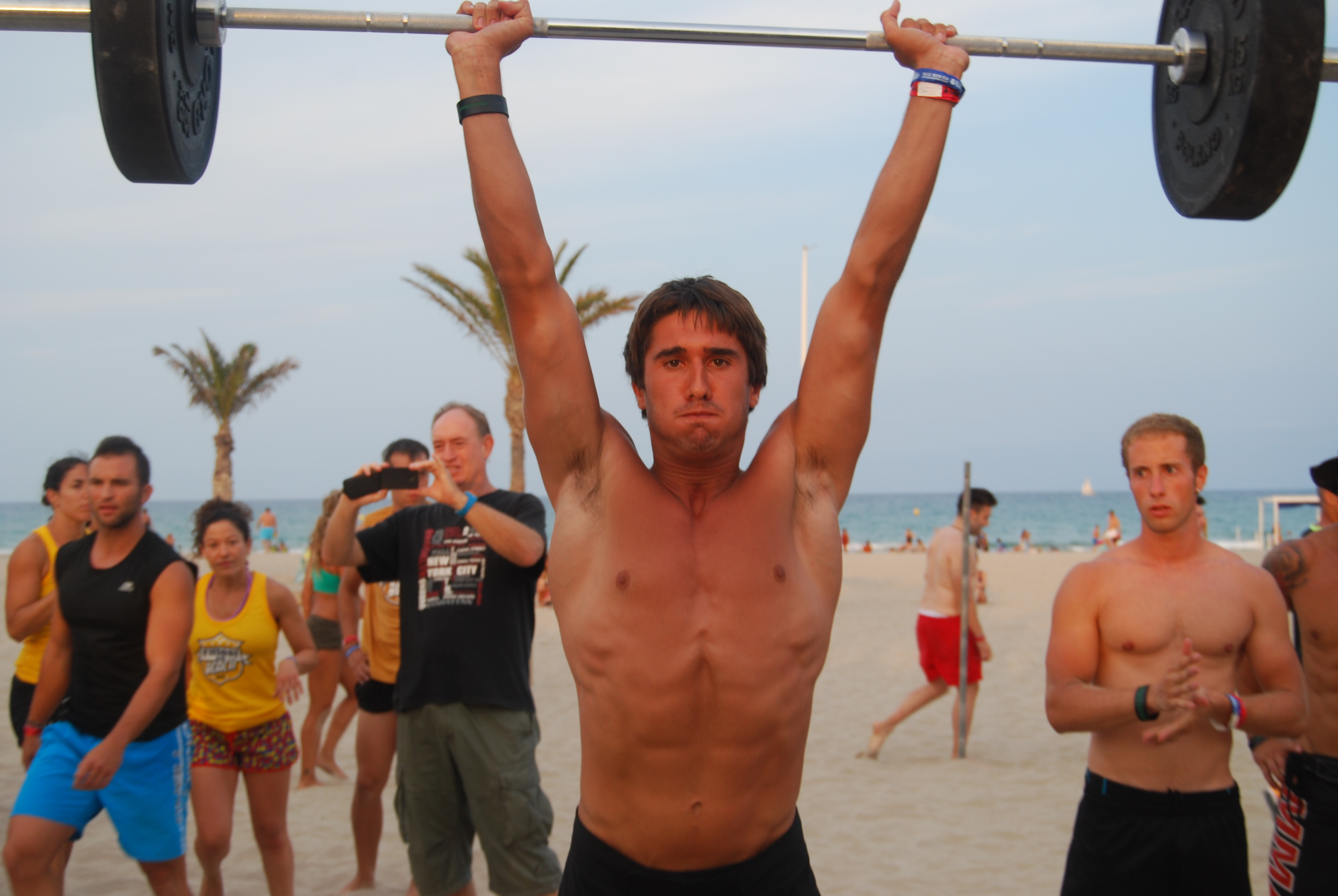 Fit Test in The Beach 6