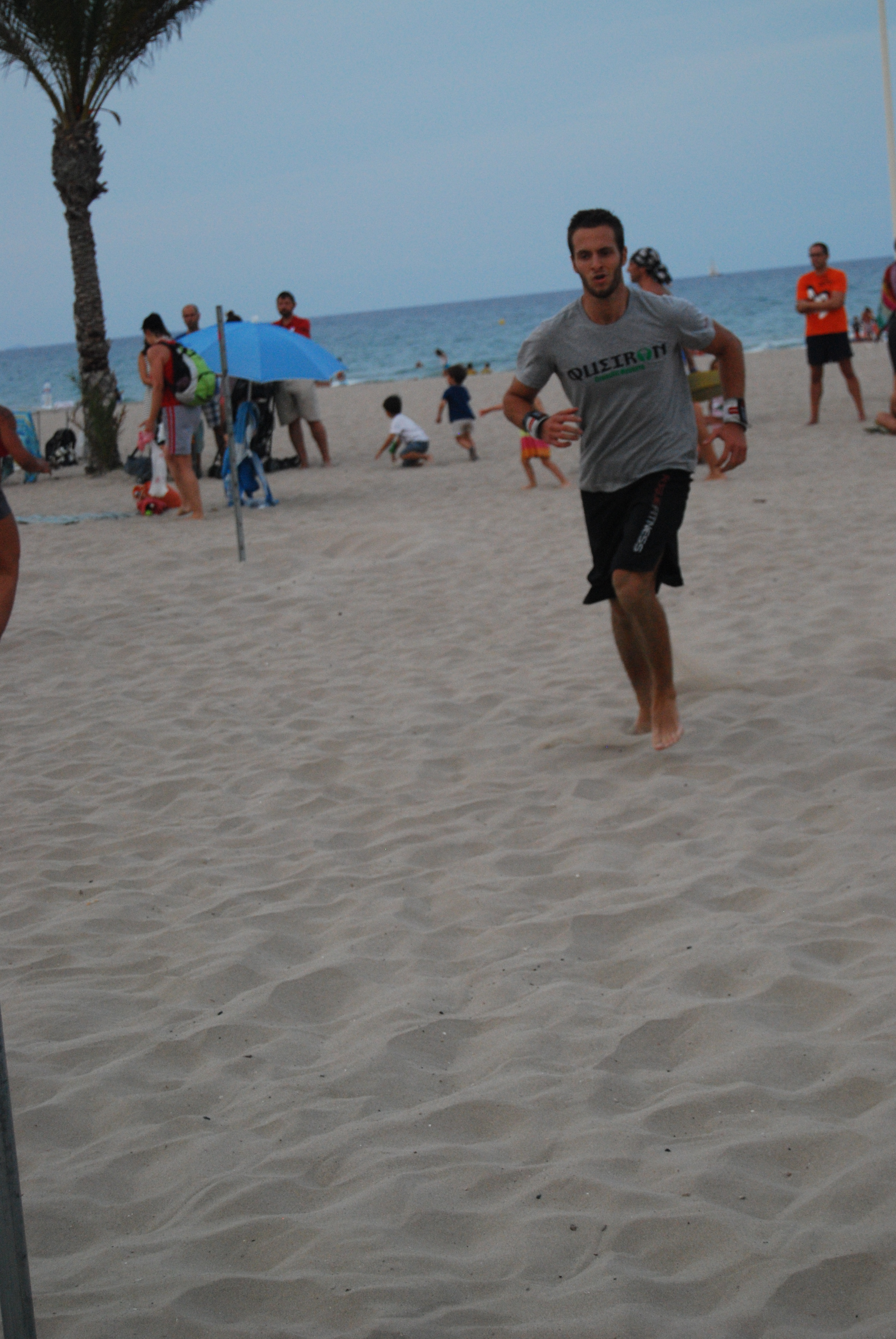 Fit Test in The Beach 9